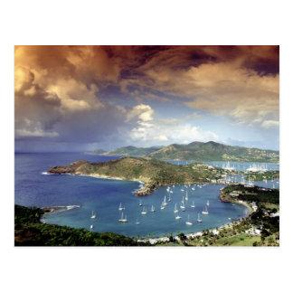 Caribbean, Antigua. Postcard