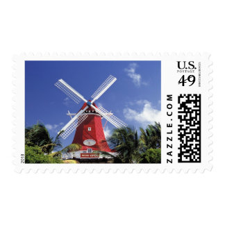 Caribbean, Aruba. Old Mill, converted into 'Mill Postage