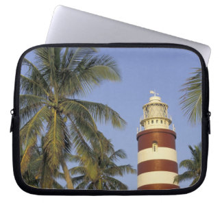 Caribbean, Bahamas, Abaco, Elbow Cay. Hopetown Laptop Sleeve