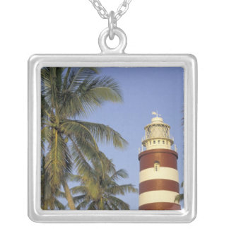 Caribbean, Bahamas, Abaco, Elbow Cay. Hopetown Silver Plated Necklace