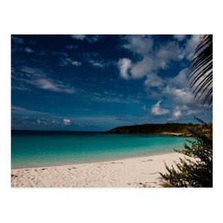 Caribbean Beach 01 Postcard