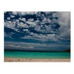 Caribbean Beach 02 Post Card