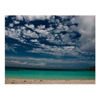 Caribbean Beach 02 Postcard