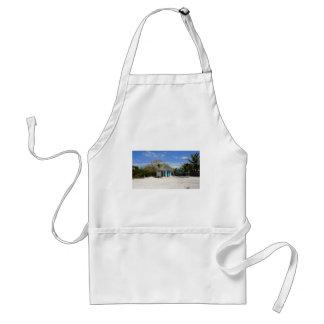 caribbean beach adult apron