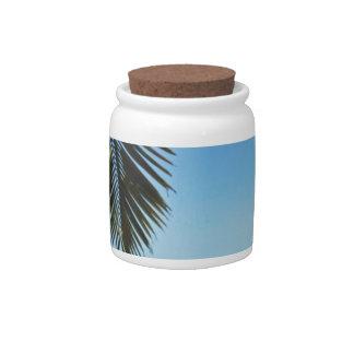 caribbean beach candy dish