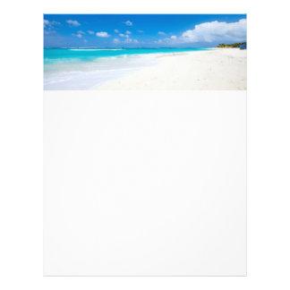 Caribbean beach flyer