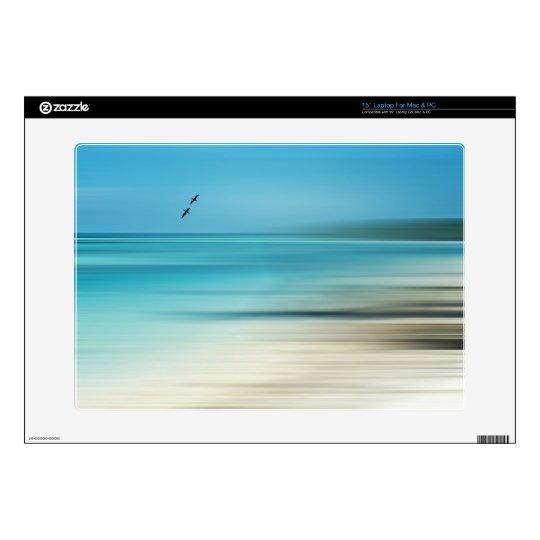 Caribbean Beach Memory Laptop Decal Skin