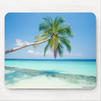 caribbean beach mousemat