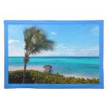 Caribbean Beach Placemats