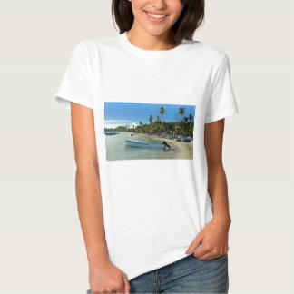 caribbean beach t shirt