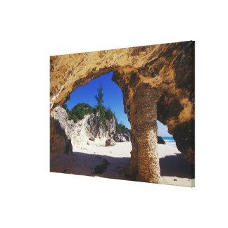 Caribbean, Bermuda, Tucker's Town. Natural Canvas Print