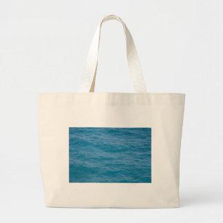 Caribbean Blue Water Tote Bags