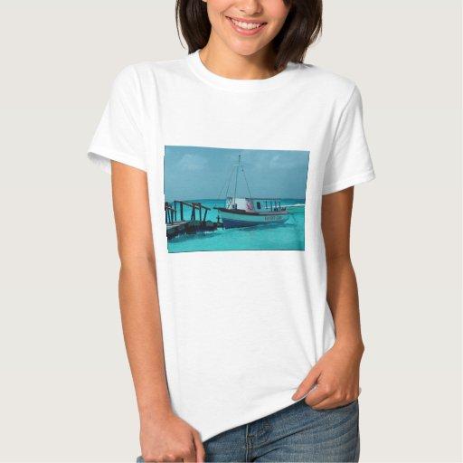 Caribbean boat shirt