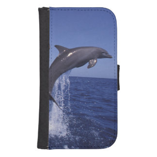Caribbean, Bottlenose dolphins Tursiops 7 Phone Wallet Cases