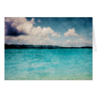 Caribbean British Virgin Islands Card