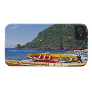 Caribbean, BWI, St. Lucia, Sailboats, Soufriere. Case-Mate iPhone 4 Case