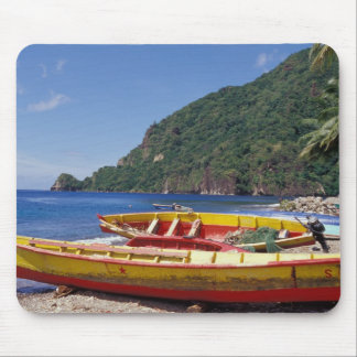 Caribbean, BWI, St. Lucia, Sailboats, Soufriere. Mouse Pad