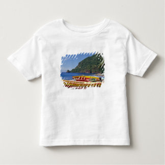 Caribbean, BWI, St. Lucia, Sailboats, Soufriere. Toddler T-shirt