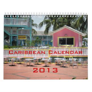 Caribbean Calendar 2013