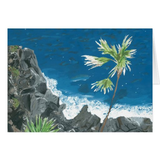 """""""Caribbean"""" Card from Canvas Justice"""