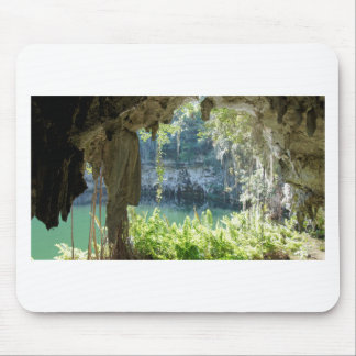 caribbean cave mouse pad