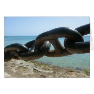 Caribbean Chainlink Card