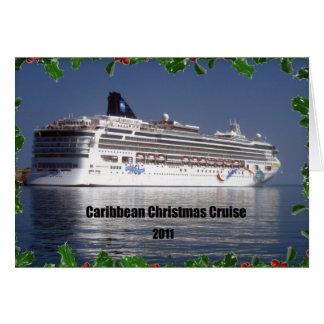 Caribbean Christmas Cruise 2011 Card