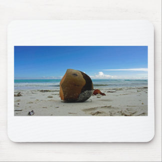 caribbean coconut mouse pad