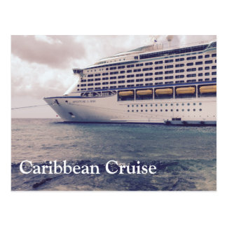 Caribbean Cruise - Postcard