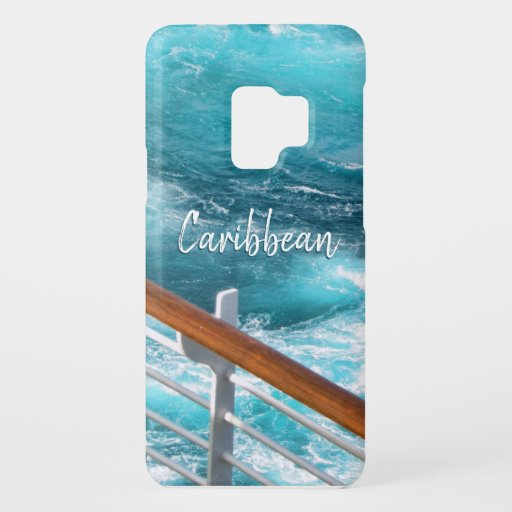 Caribbean Cruise Turquoise Wake Travel Photography Case-Mate Samsung Galaxy S9 Case