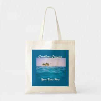 Caribbean Cruising Customizable Tote Bag
