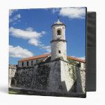 Caribbean, Cuba, Havana. Old Havana, Castillo Vinyl Binders