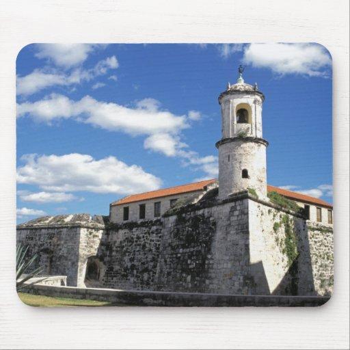 Caribbean, Cuba, Havana. Old Havana, Castillo Mouse Pad