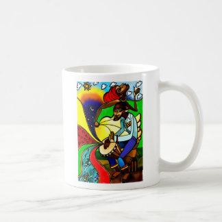 'Caribbean Dance' ceramic mug