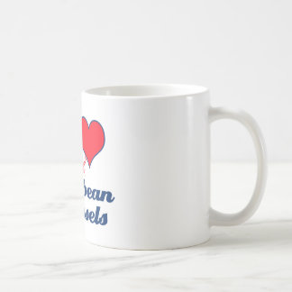 Caribbean design coffee mugs