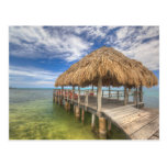 Caribbean Dock Postcard
