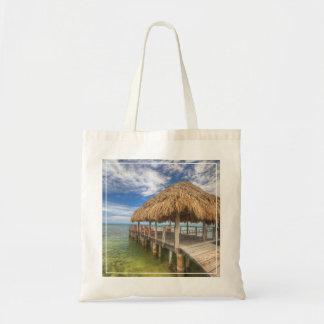 Caribbean Dock Tote Bag