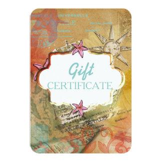 Caribbean Dream - Invite / Gift Certificate