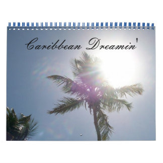 Caribbean Dreamin' Calendar