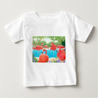Caribbean Flamingos T-shirt
