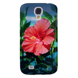Caribbean flower galaxy s4 case