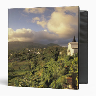 Caribbean, French West Indies, Martinique. 3 Ring Binder