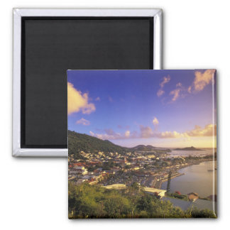 Caribbean, French West Indies, St. Martin. Magnet
