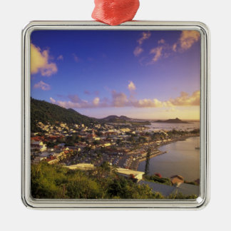 Caribbean, French West Indies, St. Martin. Metal Ornament