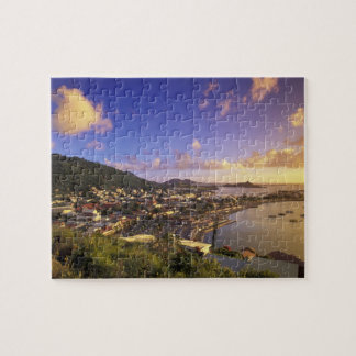 Caribbean, French West Indies, St. Martin. Jigsaw Puzzle