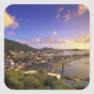 Caribbean French West Indies St Martin Stickers