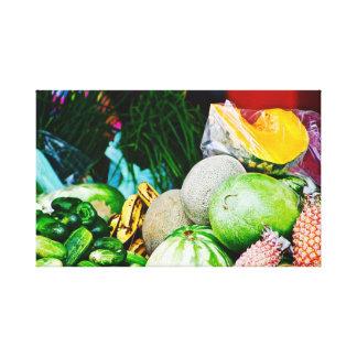 Caribbean Fruit - Canvas Art - Barbados