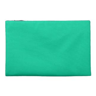 Caribbean Green Travel Accessory Bags