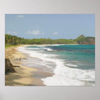 Caribbean, GRENADA, East Coast, Grenada Bay, Poster