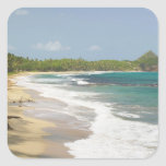 Caribbean, GRENADA, East Coast, Grenada Bay, Square Sticker